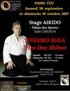 Affiche stage toshiro